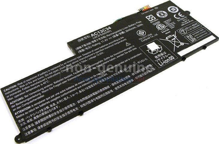 Battery for Acer Aspire V5-132P laptop