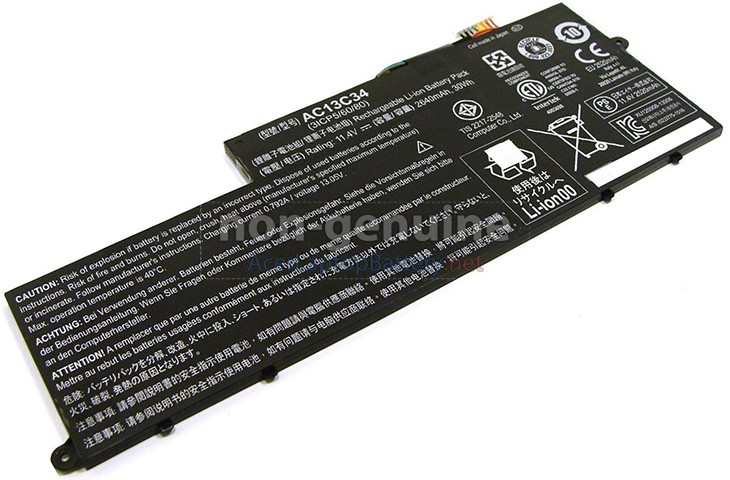 Battery for Acer AC13C34(3ICP5/60/80) laptop