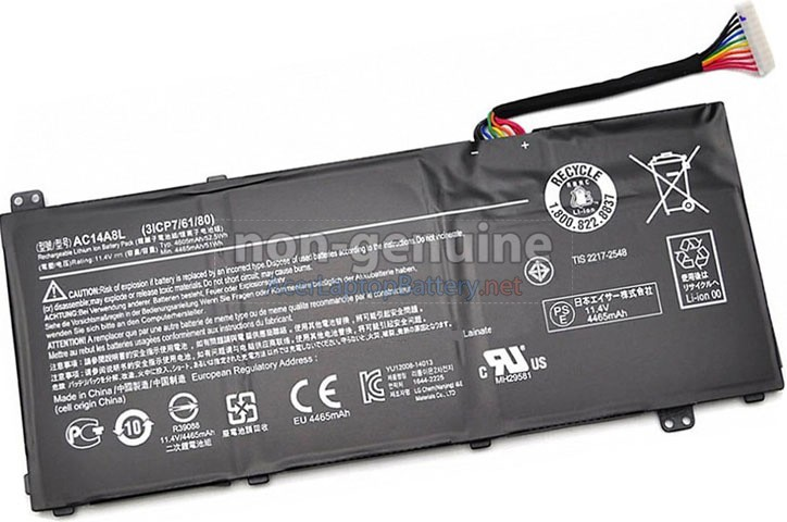 Battery for Acer AC14A8L laptop
