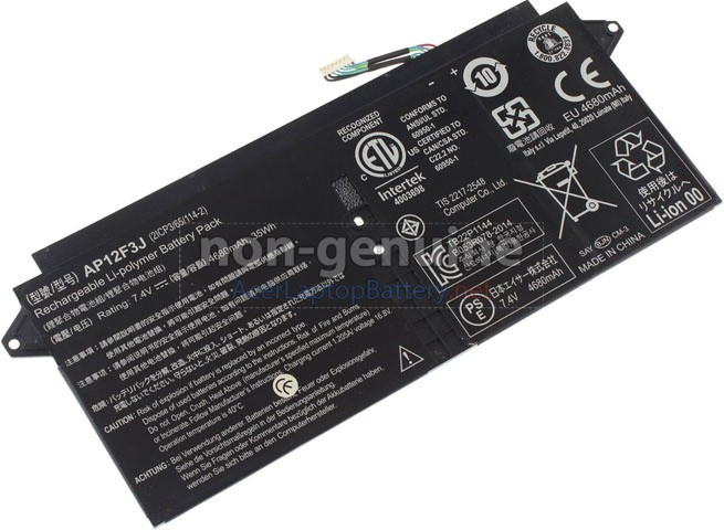 Battery for Acer ASPRE S7-391-6822 laptop