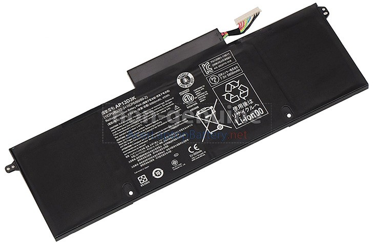 Battery for Acer Aspire S3-392G-54206G50TWS01 laptop