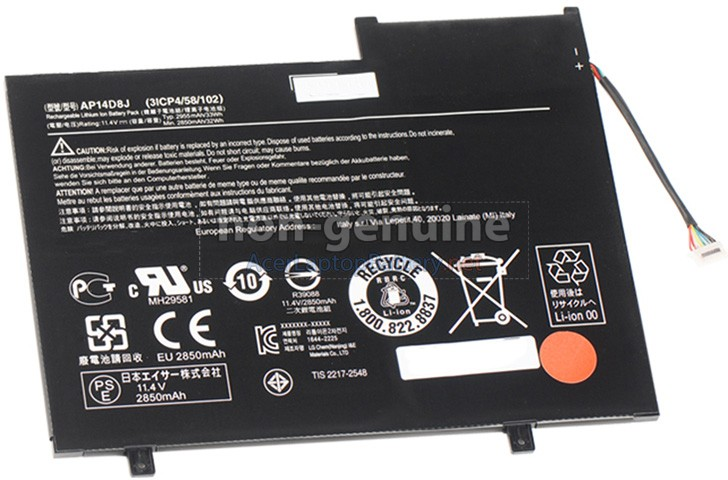 Battery for Acer SW5-171P laptop