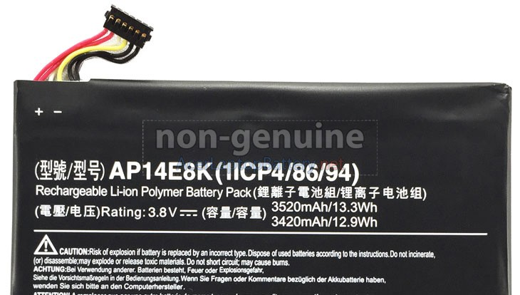 Battery for Acer Iconia Tab W1-810 laptop
