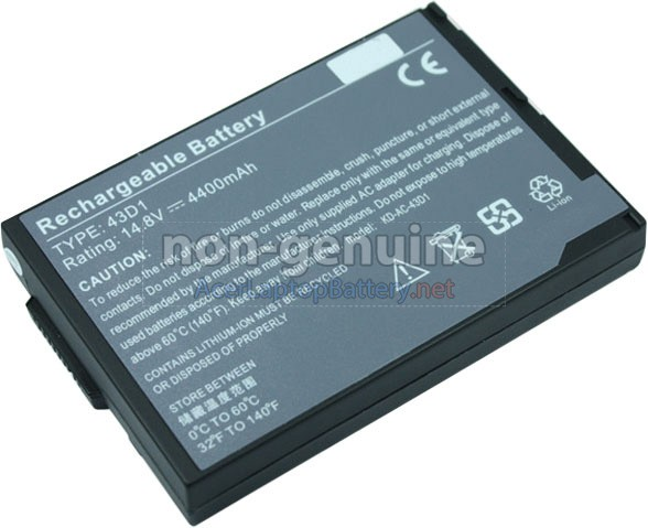 Battery for Acer TravelMate 223X laptop