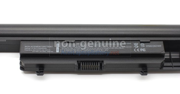 Battery for Gateway AS10H51 laptop