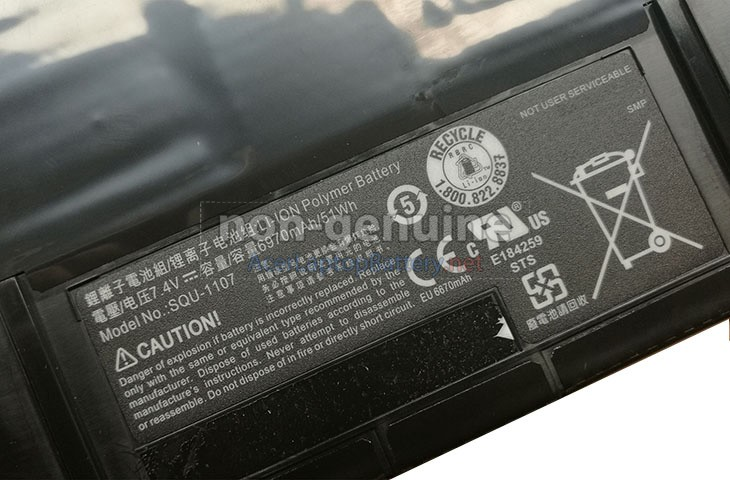 Battery for Acer VIZIO CT14 laptop