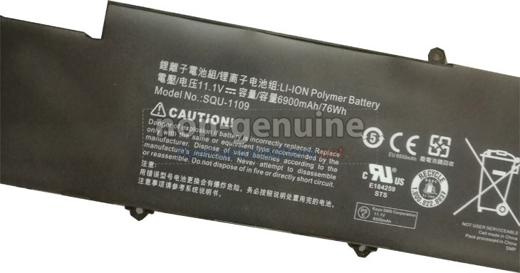 Battery for Acer VIZIO CN15-A5 laptop