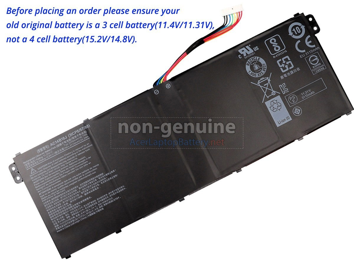 Acer Aspire ES1-521-20ZC battery