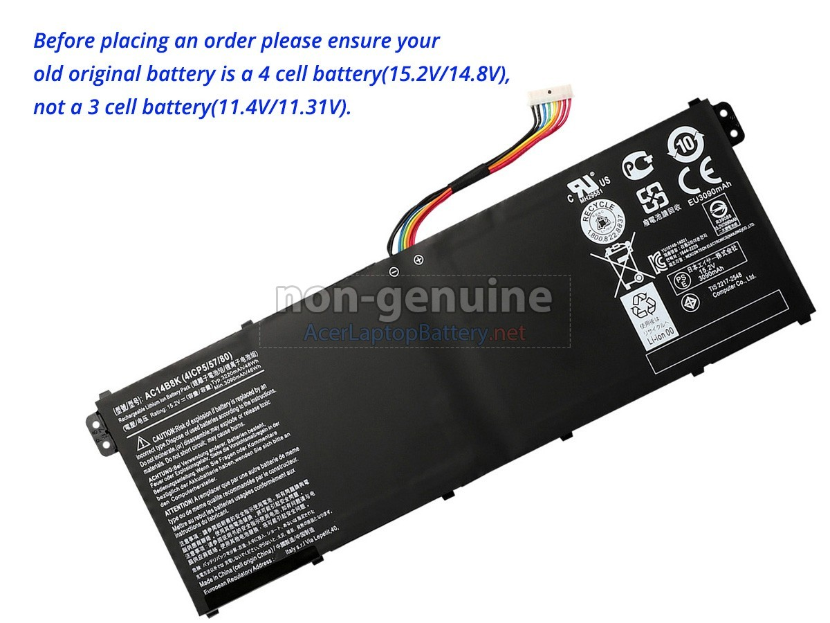 Acer Aspire R3-131T-P2GZ battery
