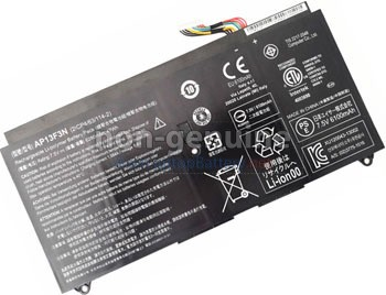 Acer Aspire S7-392-54208G25TWS replacement laptop battery